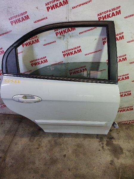 Дверь Hyundai Sonata EF G4JS 2003 задняя правая