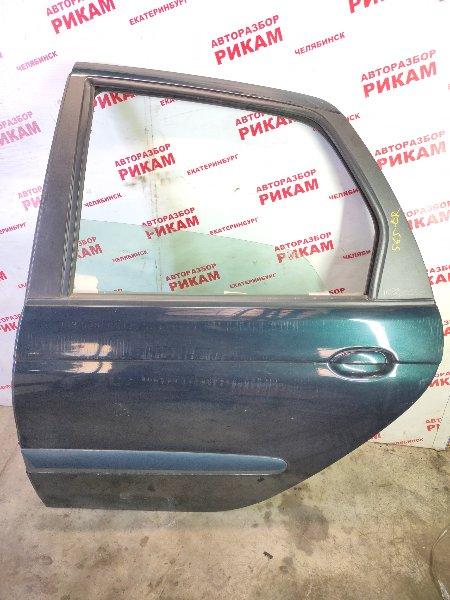 Дверь Renault Scenic JA13 F4R747 2003 задняя левая