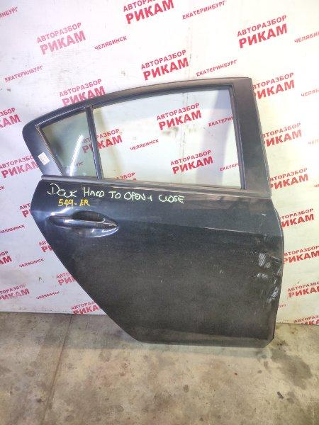 Дверь Mazda 3 BL1 LF-VE 2010 задняя правая