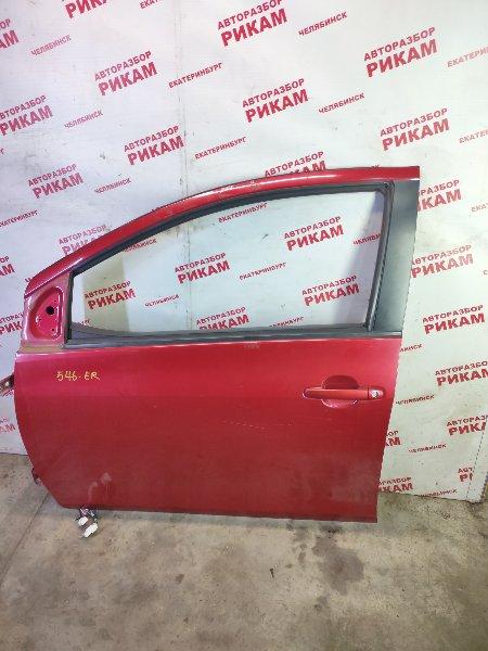 Дверь Toyota Yaris NCP93 1NZ-FE 2011 передняя левая