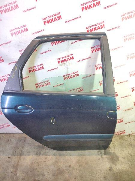 Дверь Renault Scenic JA13 F4R747 2003 задняя правая