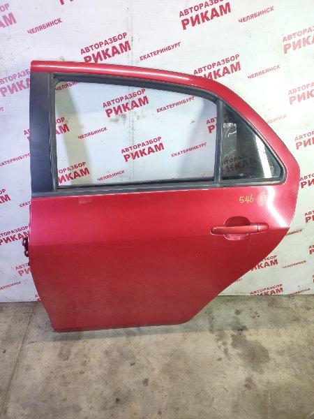 Дверь Toyota Yaris NCP93 1NZ-FE 2011 задняя левая