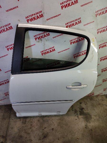 Дверь Peugeot 207 WC 10FHCK 2012 задняя левая