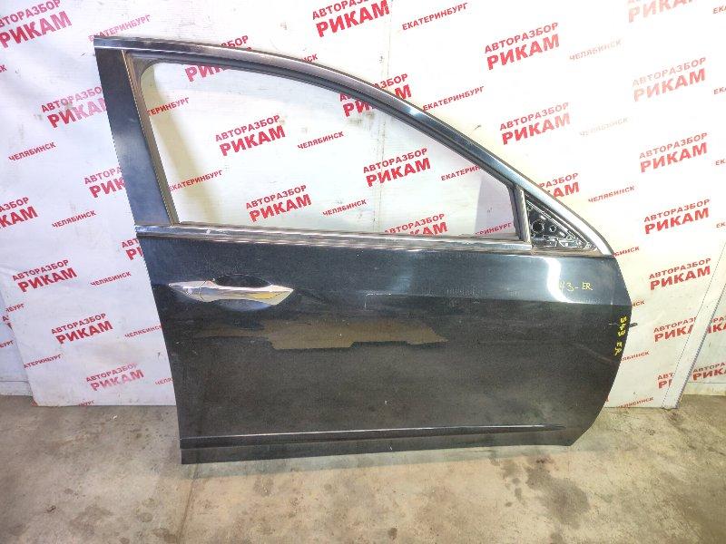 Дверь Honda Accord CU2 K24Z3 2009 передняя правая
