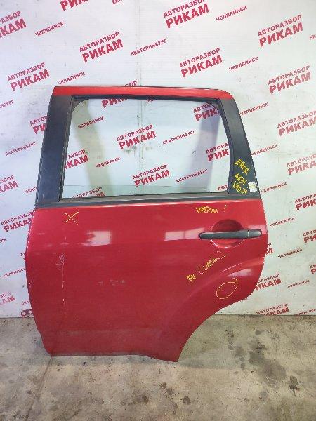 Дверь Mitsubishi Outlander Xl CW5W 4B12 2011 задняя левая