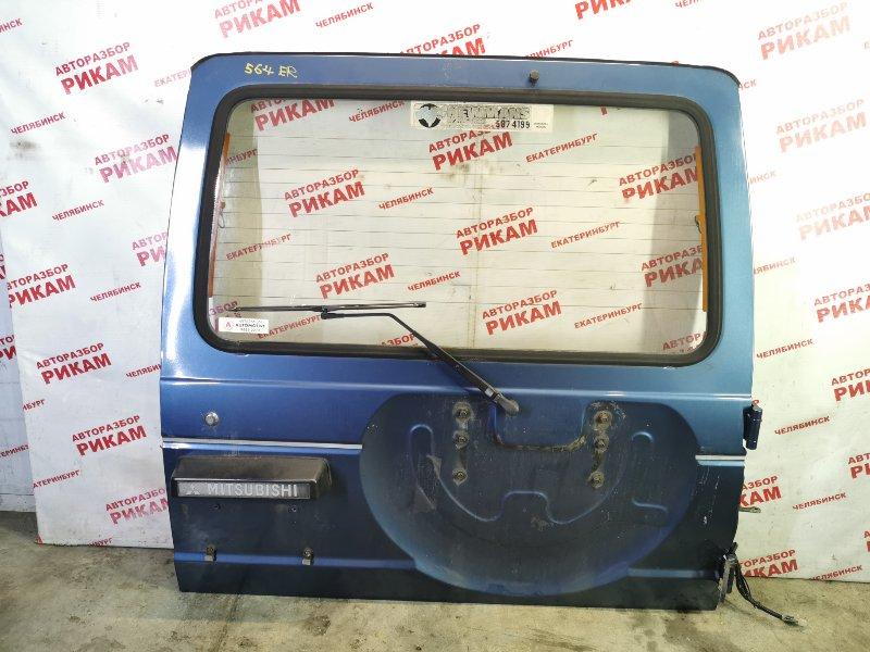 Дверь багажника Mitsubishi Pajero L146GW 6G72 1990