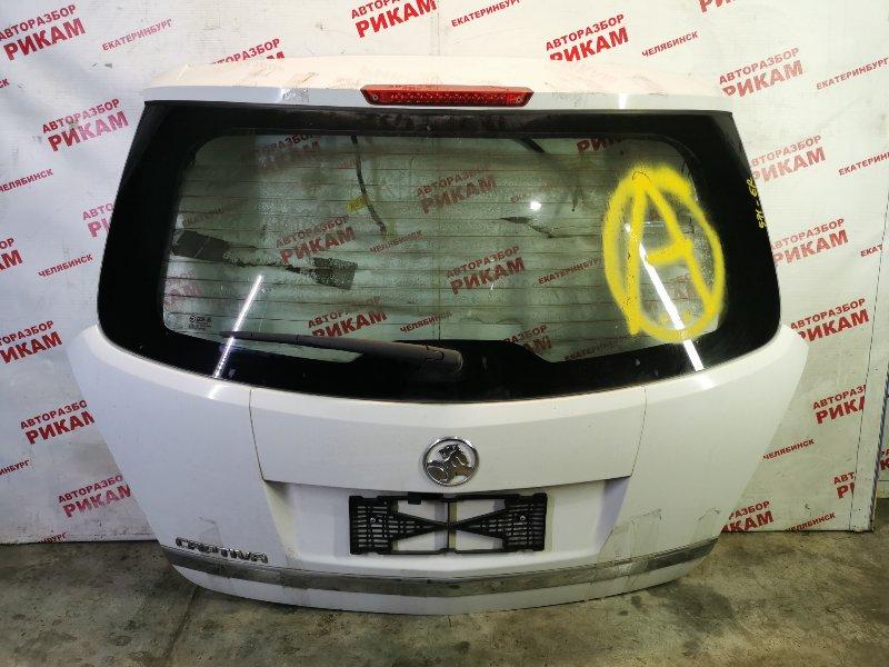 Дверь багажника Opel Antara L07 Z24SED 2010