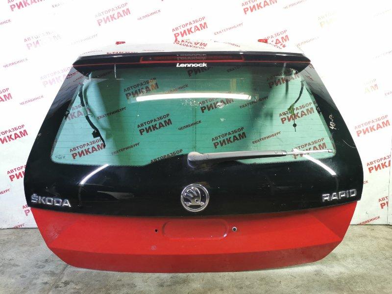 Дверь багажника Skoda Rapid NH1 CAX 2015