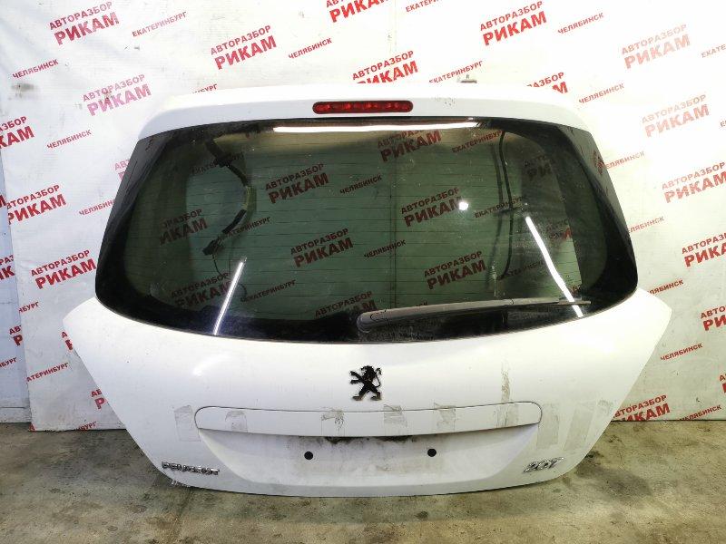 Дверь багажника Peugeot 207 WC 10FHCK 2012