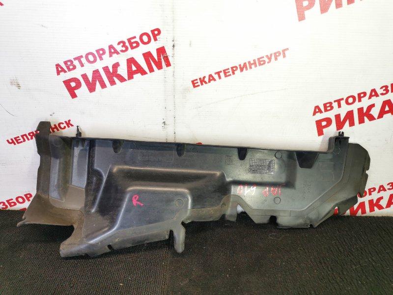 Дефлектор радиатора Peugeot 308 4A 10FHBV 2010 правый