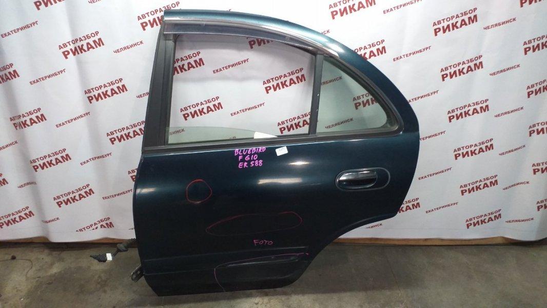 Дверь Nissan Bluebird Sylphy FG10 QG15DE 2003 задняя левая