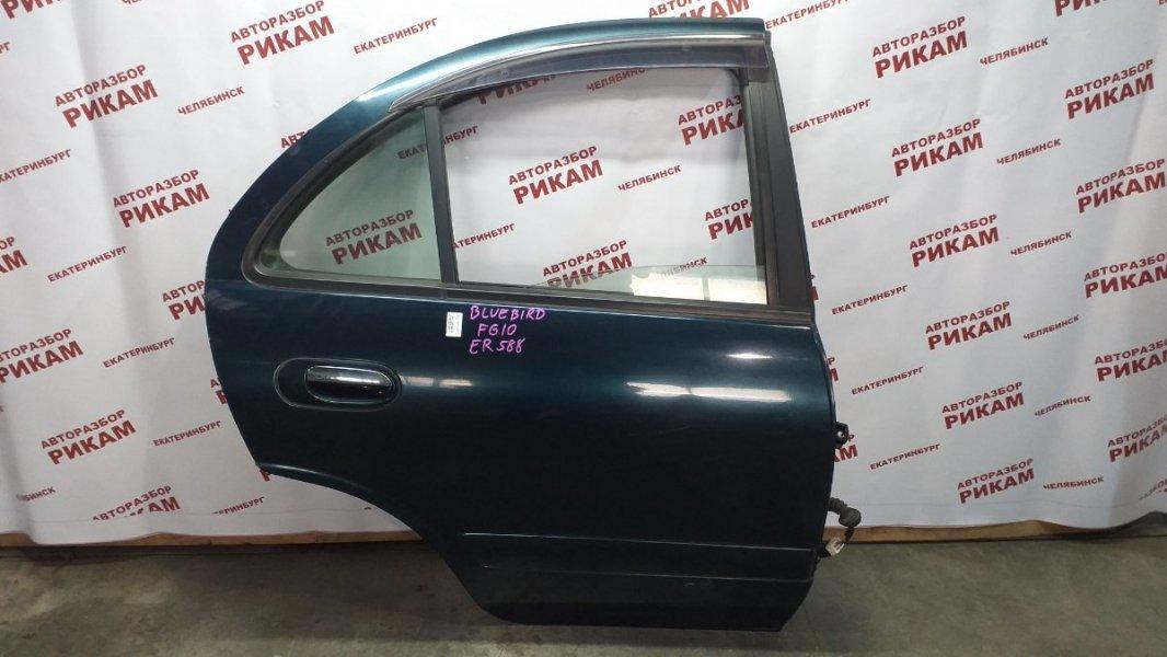 Дверь Nissan Bluebird Sylphy FG10 QG15DE 2003 задняя правая