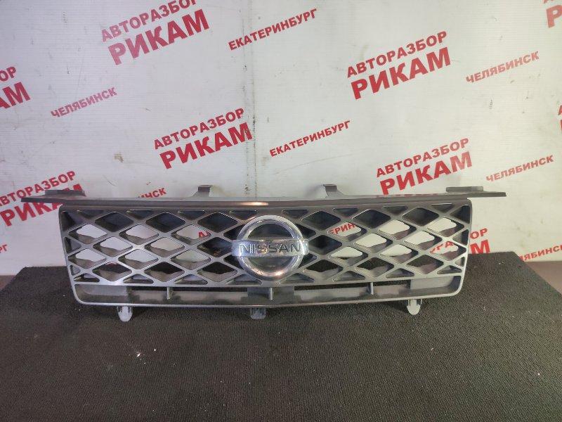Решетка радиатора Nissan X-Trail T30 QR20DE 2005