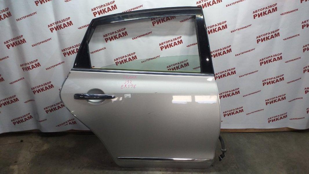 Дверь Nissan Teana J32 VQ25DE 2008 задняя правая