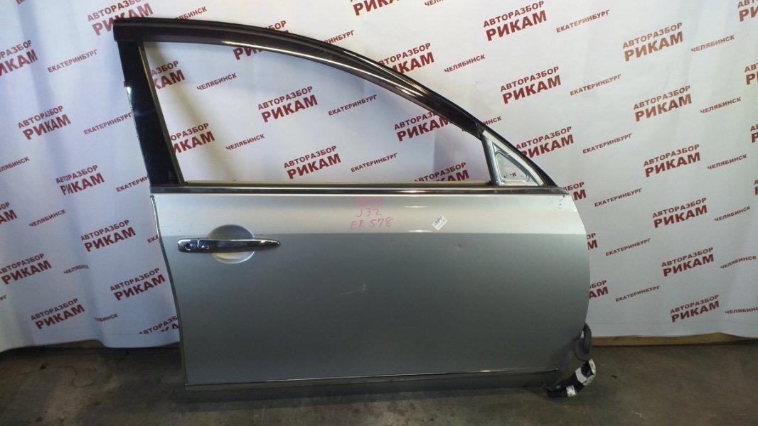 Дверь Nissan Teana J32 VQ25DE 2008 передняя правая