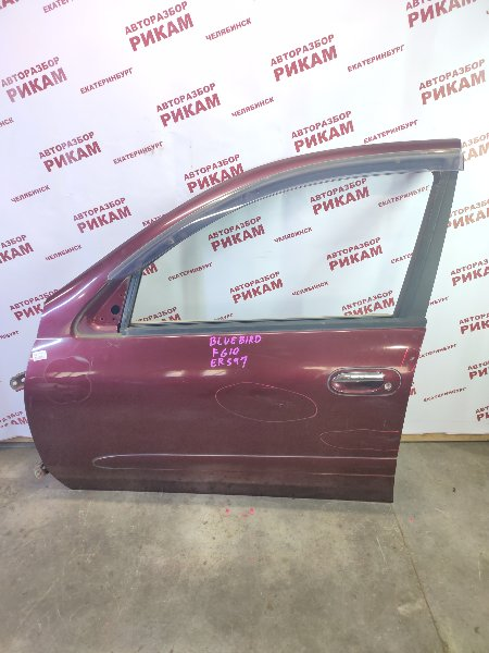 Дверь Nissan Bluebird Sylphy FG10 QG15DE 2001 передняя левая