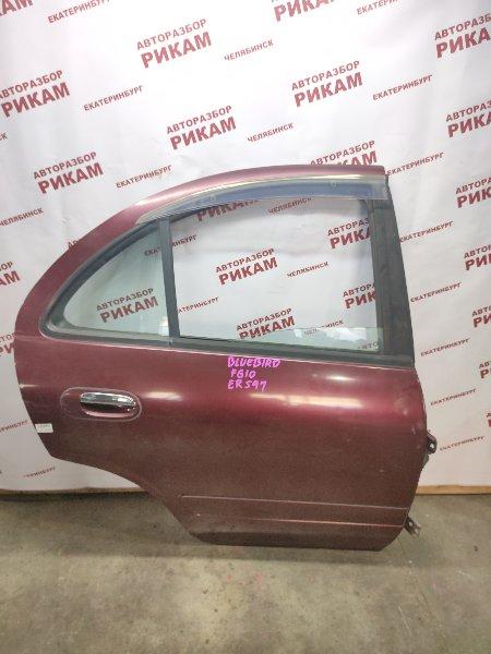 Дверь Nissan Bluebird Sylphy FG10 QG15DE 2001 задняя правая