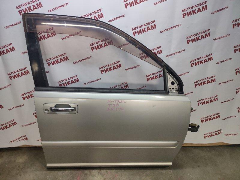 Дверь Nissan X-Trail T30 QR20DE 2005 передняя правая