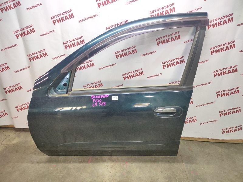 Дверь Nissan Bluebird Sylphy FG10 QG15DE 2003 передняя левая