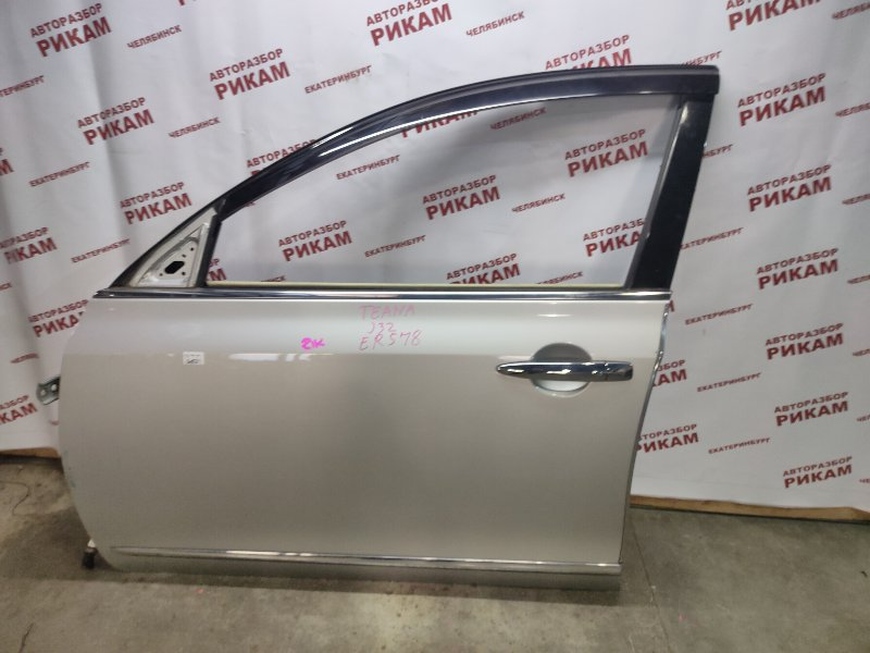 Дверь Nissan Teana J32 VQ25DE 2008 передняя левая