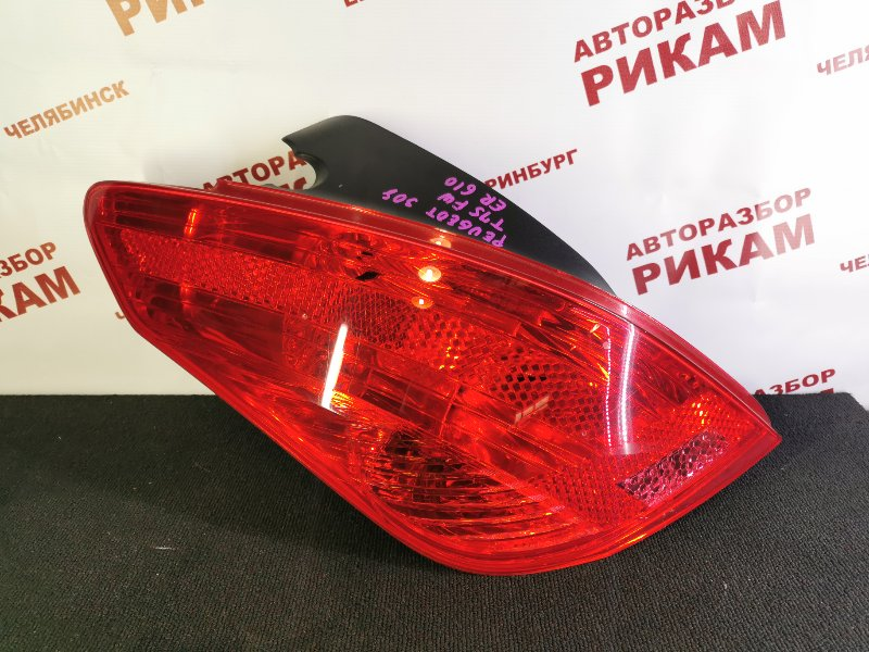 Стоп-сигнал Peugeot 308 4A 10FHBV 2010 левый