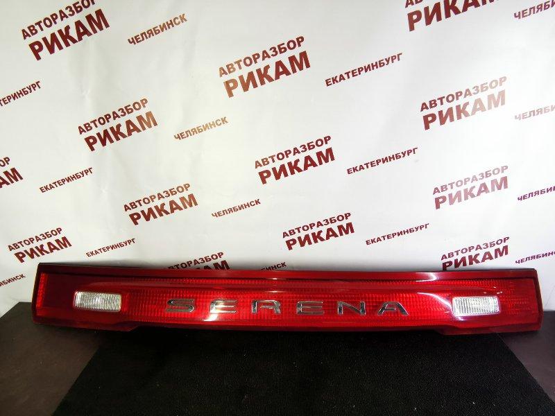 Вставка багажника Nissan Serena PC24 SR20DE 2001 задняя