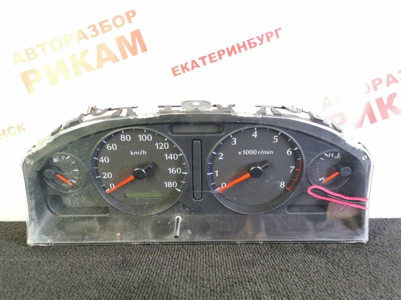 Панель приборов Nissan Bluebird Sylphy FG10 QG15DE 2001