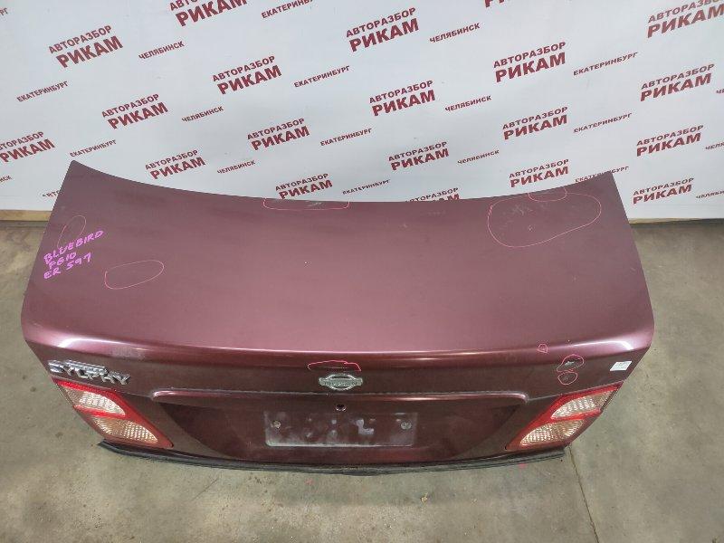 Крышка багажника Nissan Bluebird Sylphy FG10 QG15DE 2001