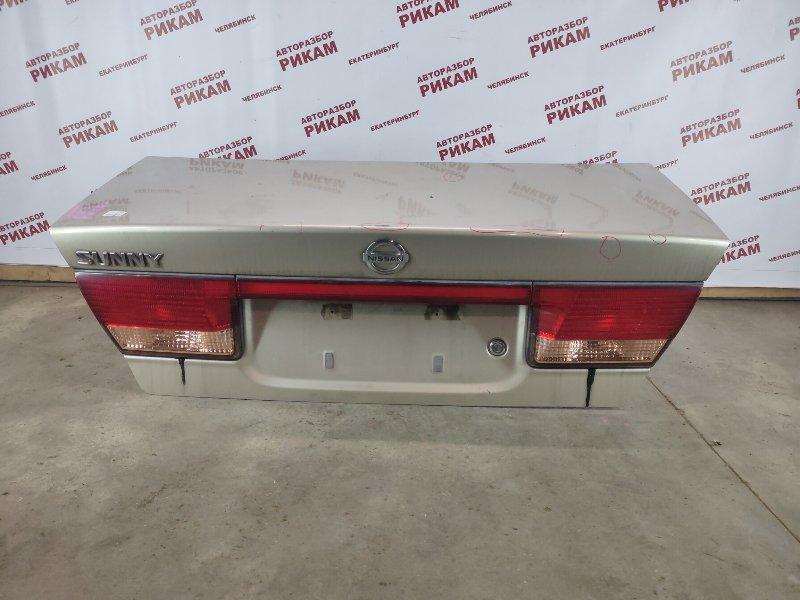 Крышка багажника Nissan Sunny FB15 QG15DE 2002