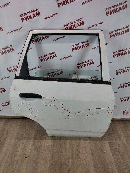 Дверь Nissan Ad VFY11 QG15DE 2004 задняя правая