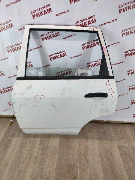 Дверь Nissan Ad VFY11 QG15DE 2004 задняя левая