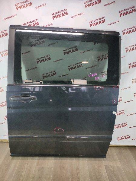 Дверь Mercedes-Benz Viano W639 M112.951 2004 задняя левая