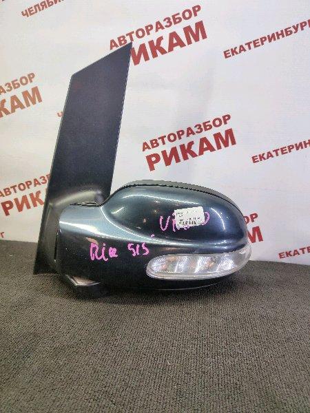Зеркало Mercedes-Benz Viano W639 M112.951 2004 левое