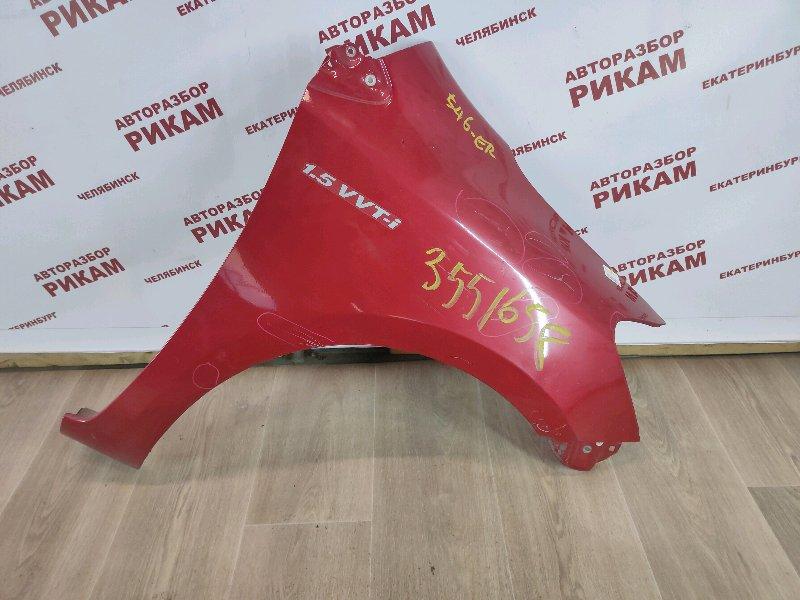 Крыло Toyota Yaris NCP93 1NZ-FE 2011 переднее правое