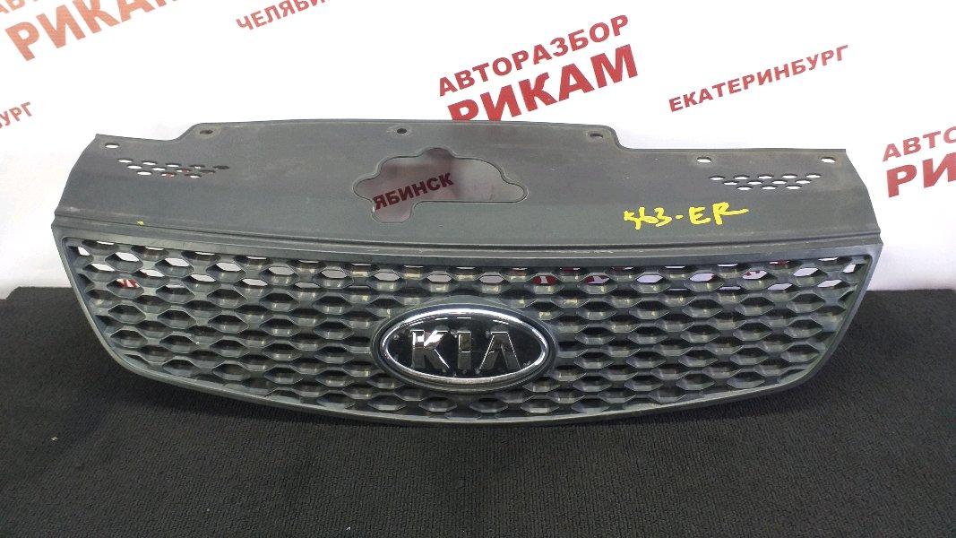 Решетка радиатора Kia Rio JB G4ED 2007