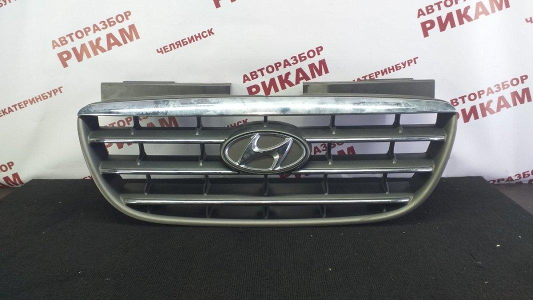 Решетка радиатора Hyundai Elantra HD G4GC 2007