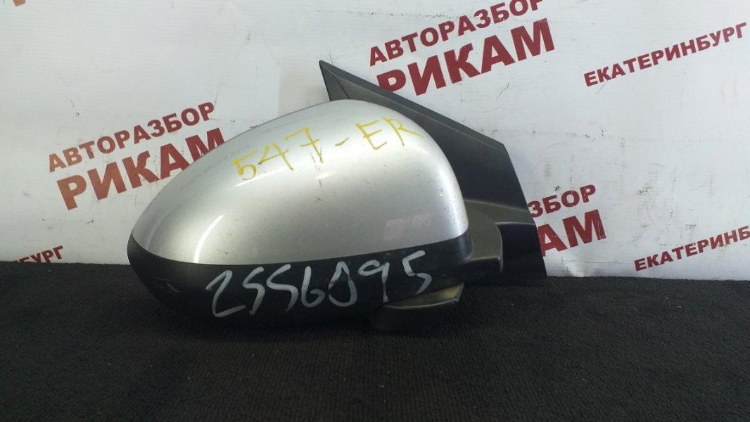 Зеркало Chevrolet Aveo T300 F16D4 2012 правое