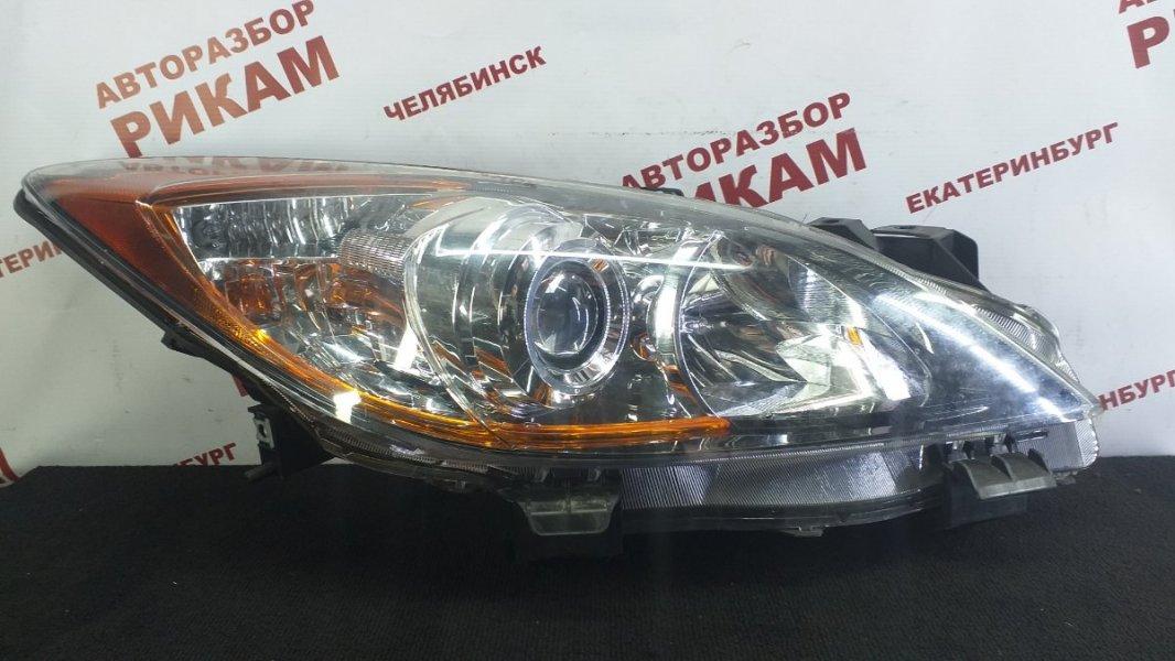 Фара Mazda 3 BL1 LF-VE 2010 левая