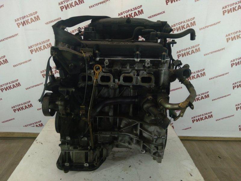 Двигатель Nissan Murano TZ50 QR25DE 2004