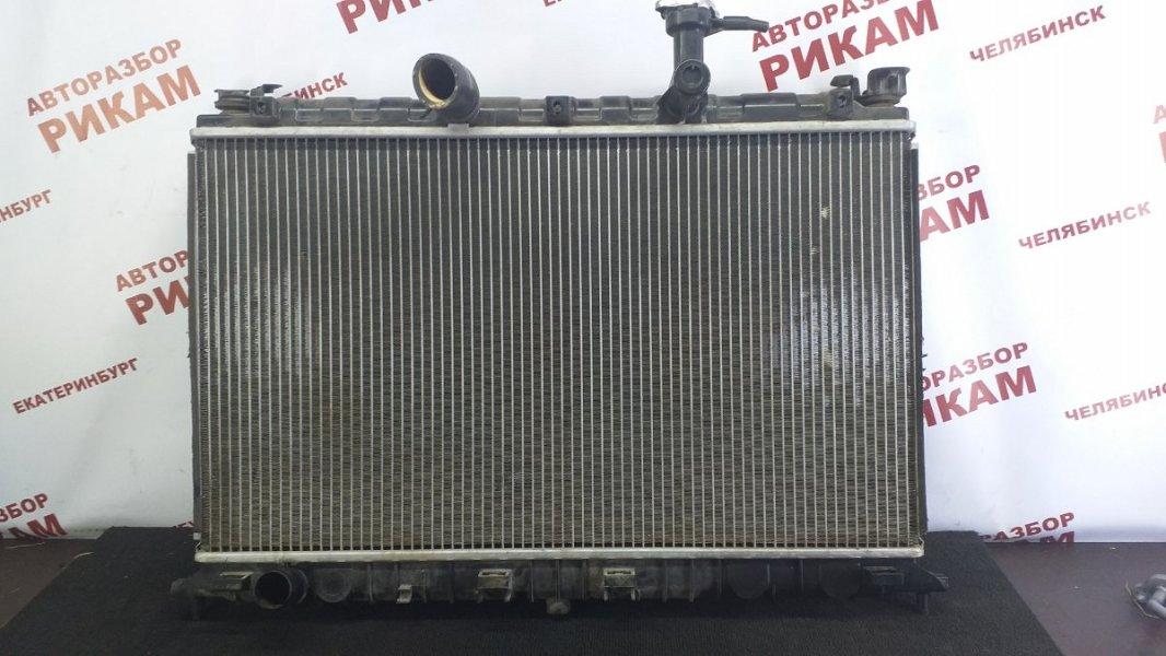Радиатор охлаждения Kia Rio JB G4ED 2006