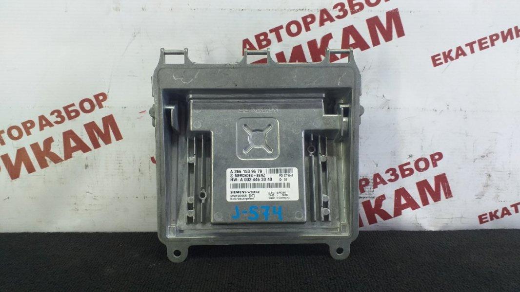 Блок управления Mercedes-Benz B-Class T245.232 M266.940 2007