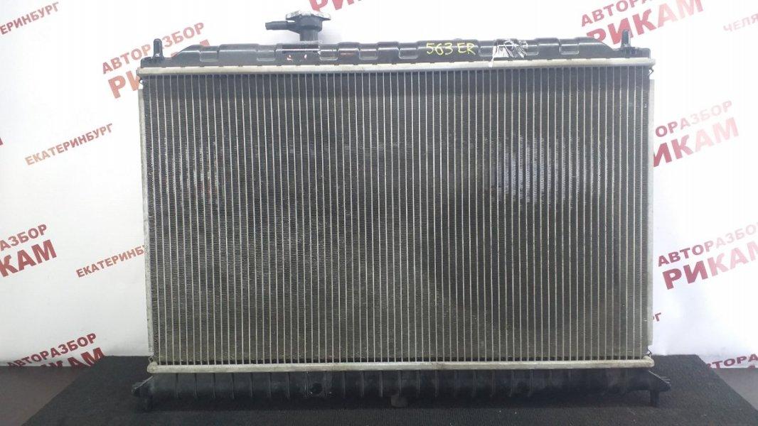 Радиатор охлаждения Kia Rio JB G4ED 2007