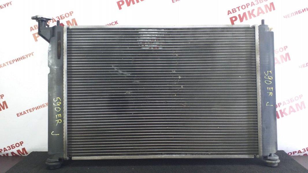 Радиатор охлаждения Toyota Wish ZNE14 1ZZ-FE 2003