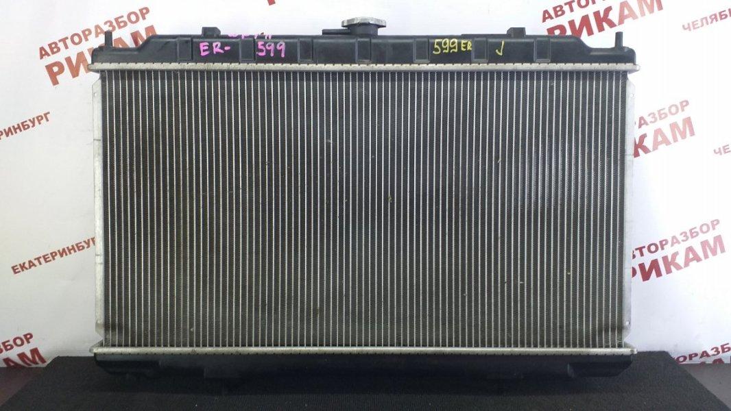 Радиатор охлаждения Nissan Wingroad WFY11 QG15DE 2002