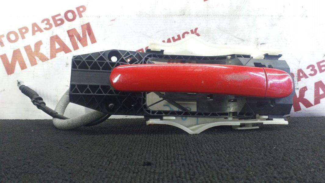 Ручка дверная Skoda Rapid NH1 CAX 2015 задняя левая