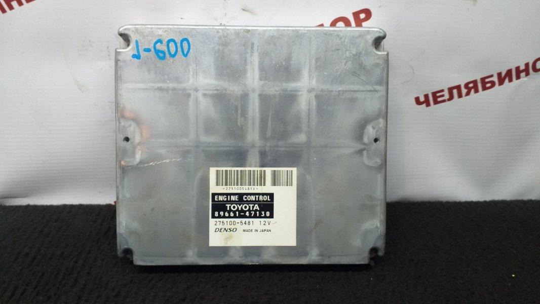 Блок управления Toyota Prius NHW20 1NZ-FXE 2006