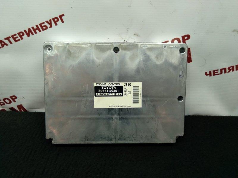 Блок управления Toyota Avensis AZT250 1AZ-FSE 2005
