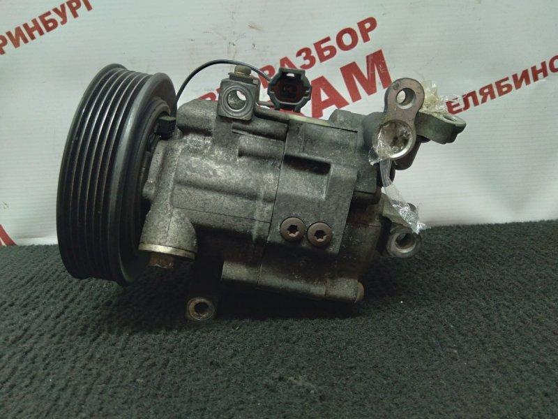 Компрессор кондиционера Nissan Wingroad WFY11 QG15DE 2002