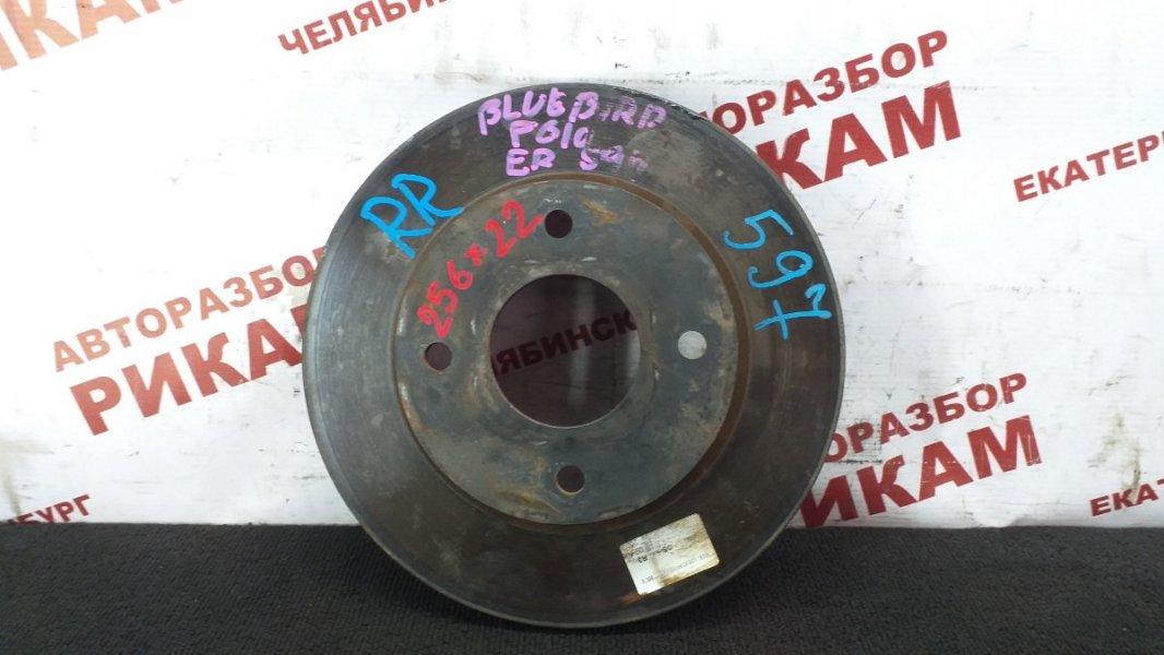 Диск тормозной Nissan Bluebird Sylphy FG10 QG15DE 2001 передний