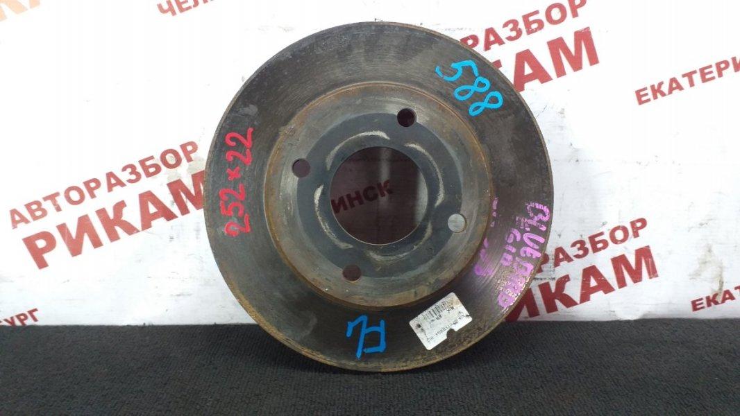 Диск тормозной Nissan Bluebird Sylphy FG10 QG15DE 2003 передний
